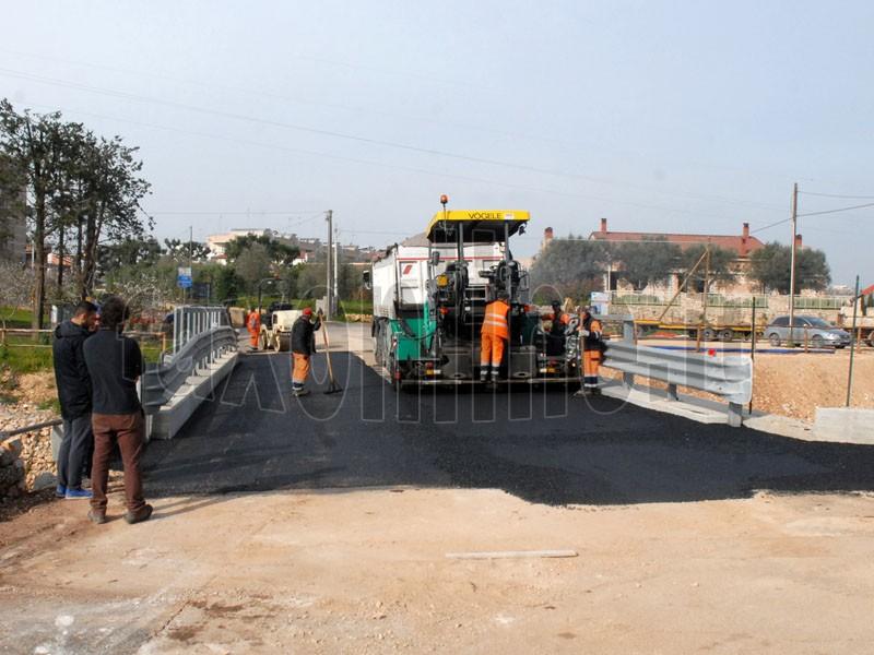 asfalto ponte via conversano