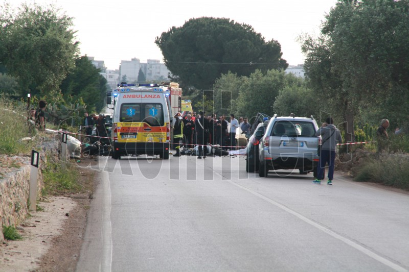 incidente via polignano