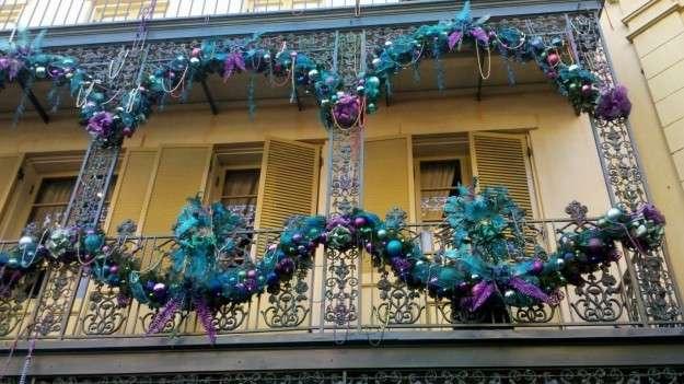 balcone natalizio