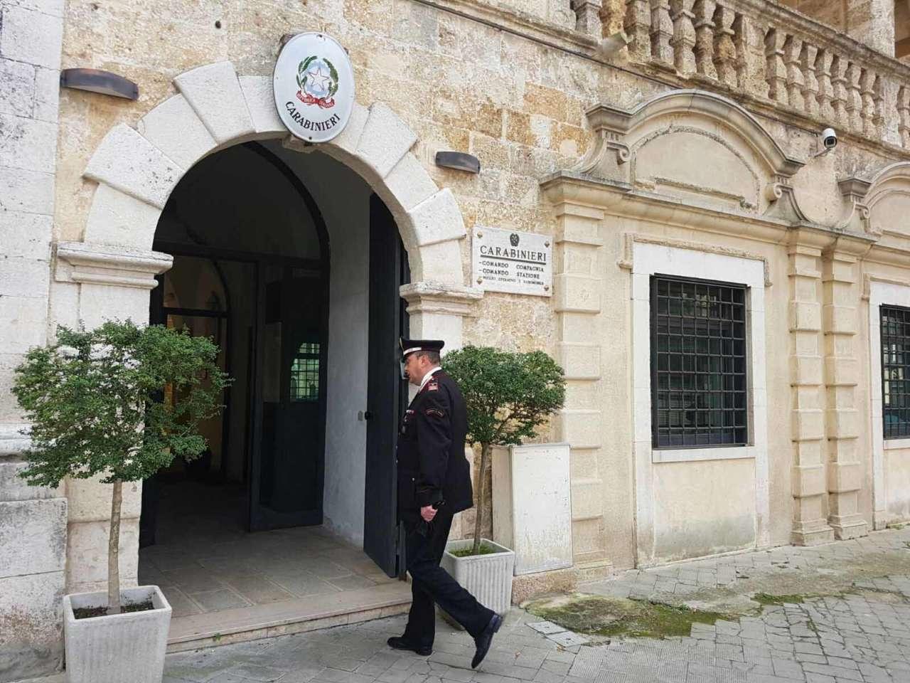 comando carabinieri Gioia