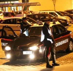 carabinieri in notturna