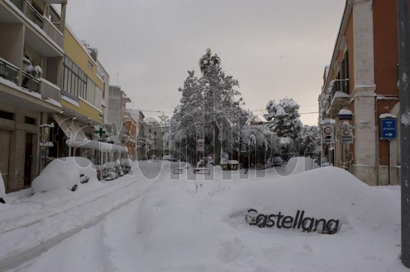 neve piazza Garibaldi