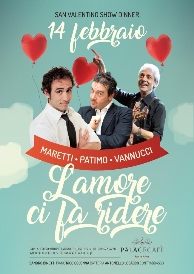show dinner san valentino 14-02-17