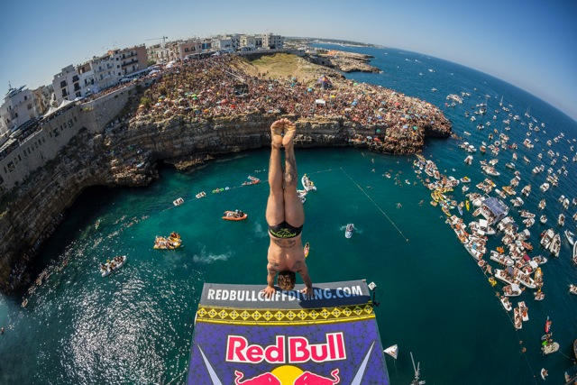 red bull cliff diving2017 2