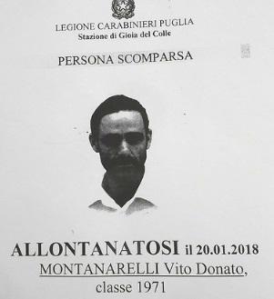Persona scomparsa