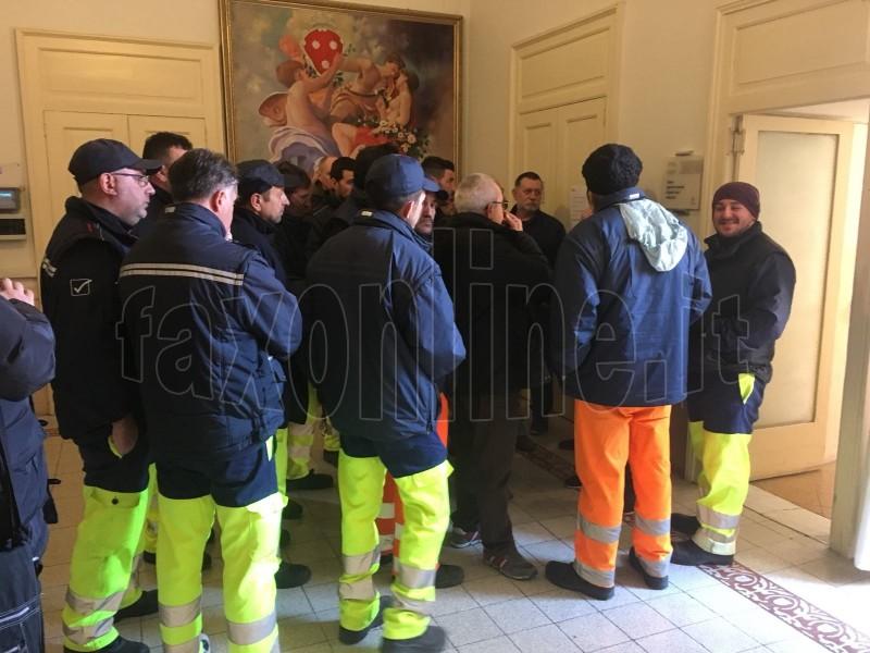 protesta operatori