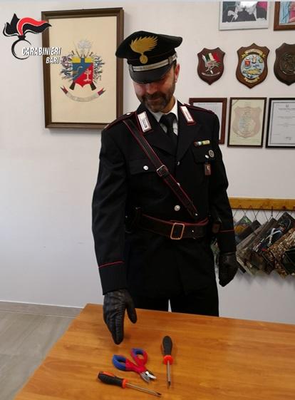 FURTO FURGONE
