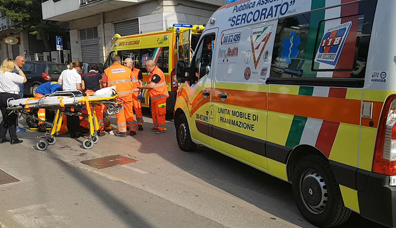 doppia ambulanza
