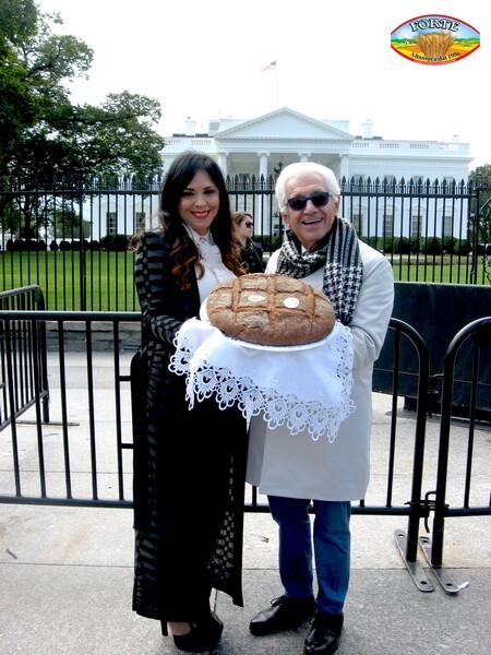 Vito e Lucia Forte alla Casa Bianca
